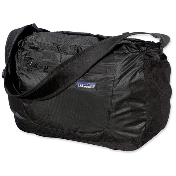 Patagonia Lightweight Travel Courier Bag Black 17L