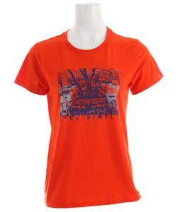 Patagonia Live Simply Heritage Auto T-Shirt Paintbrush Red