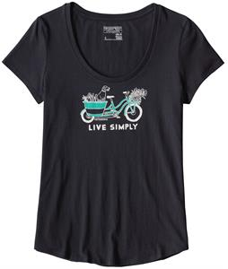 Patagonia Live Simply Market Bike Midweight T-Shirt