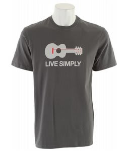 Patagonia Live Simply Guitar T-Shirt Forge Grey