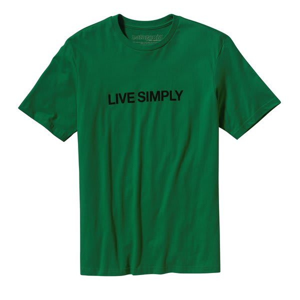 Patagonia Live Simply Text T-Shirt