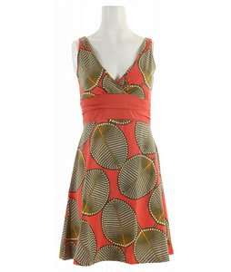 Patagonia Margot Dress Palm Fronds/Dragonfruit