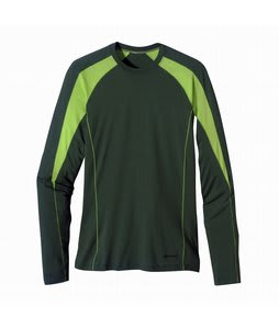 Patagonia Merino 2 LW Crew Base Layer Top Forest Glen
