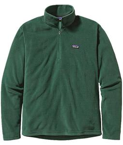 Patagonia Micro D 1/4 Zip Fleece Malachite Green