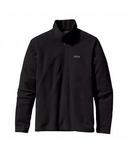 Patagonia Micro D 1/4 Zip Fleece Black