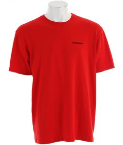 Patagonia P-6 Logo T-Shirt Red Delicious