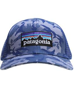Patagonia P6 Trucker Cap Big Camo/Leaden Blue