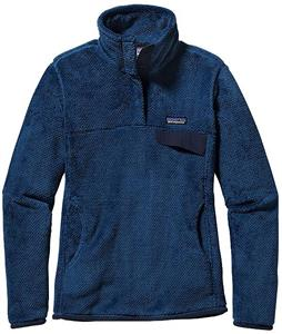 Patagonia Re-Tool Snap-T Pullover Fleece Glass Blue/Channel Blue Xdye