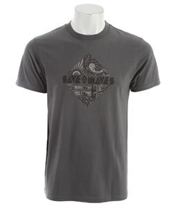 Patagonia Save The Waves Diamond T-Shirt Forge Grey