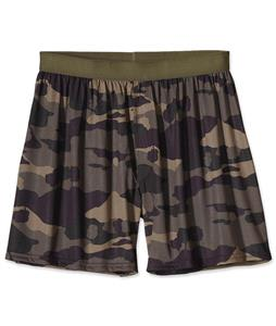 Patagonia Silkweight Print Boxers Tiny Camoscape/Alpha Green