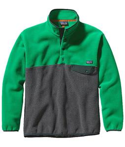 Patagonia Synchilla Snap-T Pullover Fleece Nickel Heather/Tumble Green