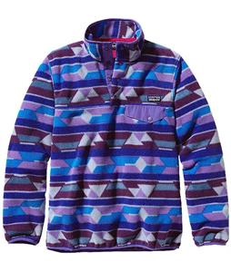 Patagonia Synchilla Lightweight Snap-T Pullover Fleece Guatemalan Tango/Violetti