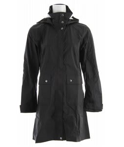 Patagonia Torrentshell Trench Coat Black