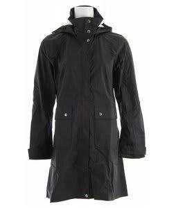 Patagonia Torrentshell Trench Coat Black