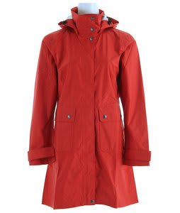 Patagonia Torrentshell Trench Coat Poppy Fields