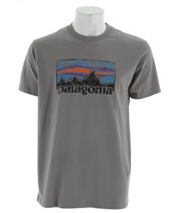 Patagonia Vintage '73 Logo T-Shirt Feather Grey