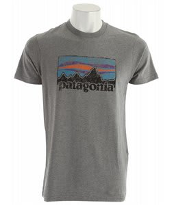 Patagonia Vintage '73 Logo T-Shirt Gravel Heather