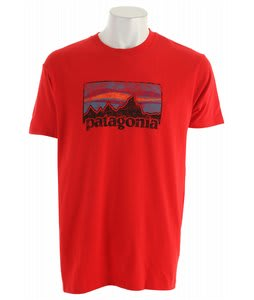Patagonia Vintage '73 Logo T-Shirt Red Delicious