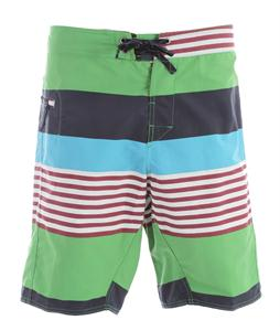 Patagonia Wavefarer 21In Boardshorts Fitz Stripe/Cilantro