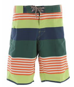 Patagonia Wavefarer Boardshorts Fitz Stripe/Valley Green