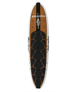 Pau Hana Big Ez Angler SUP Paddleboard White 11ft x 36in