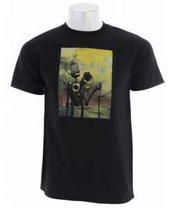 Planet Earth Artist T-Shirt Black