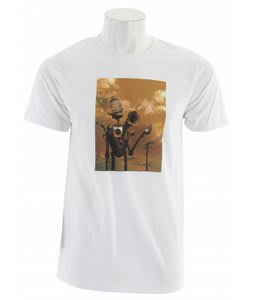 Planet Earth Artist T-Shirt White