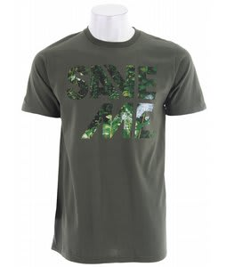 Planet Earth Callahan T-Shirt Olive