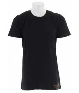 Planet Earth Chavez S/S T-Shirt Black