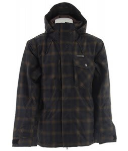 Planet Earth Chetco Shell Snowboard Jacket Black/Brown