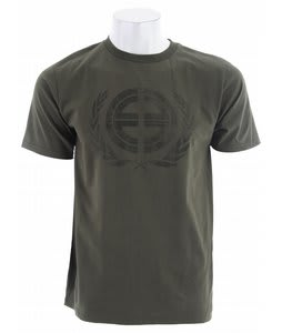 Planet Earth Crest T-Shirt Olive