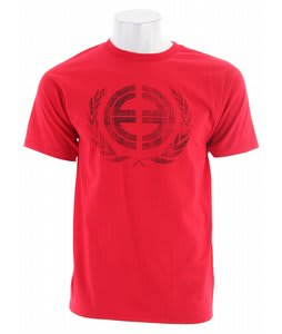 Planet Earth Crest T-Shirt Red
