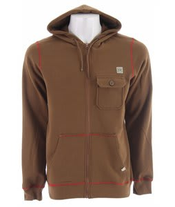 Planet Earth Donner Hoodie Brown