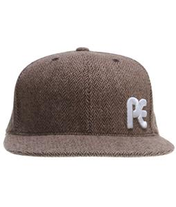 Planet Earth Dugout Cap Brown