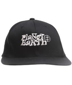 Planet Earth Dunbar Cap Black