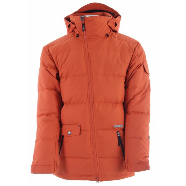 Planet Earth Down Snowboard Jacket