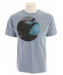 Planet Earth Focus T-Shirt Ice Flow Blue