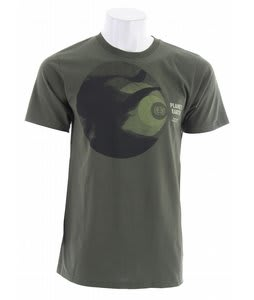 Planet Earth Focus T-Shirt Olive