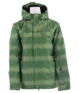 Planet Earth Jessy Insulated Snowboard Jacket Crabgrass/Sprout/Celery