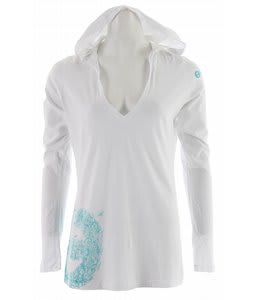 Planet Earth Lindsey Hooded T-Shirt White