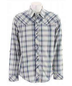 Planet Earth Ranger L/S Shirt Light Blue Plaid