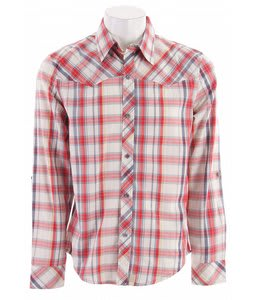 Planet Earth Ranger L/S Shirt Red Plaid
