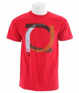 Planet Earth Roller T-Shirt Red