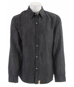 Planet Earth Scout L/S Shirt Graphite Black