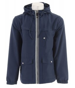 Planet Earth Trent Windbreaker Dark Denim