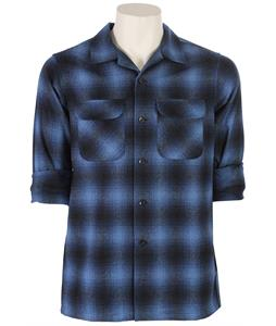 Pendleton Board Fitted Shirt Blue/Black Ombre