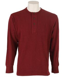 Pendleton Henley Shirt Wine Mix