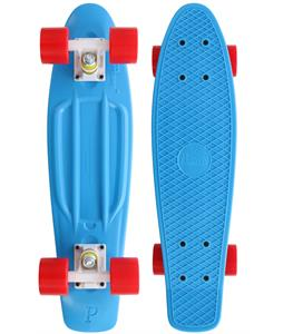 Penny Cruiser Complete Cyan/White/Red 22in