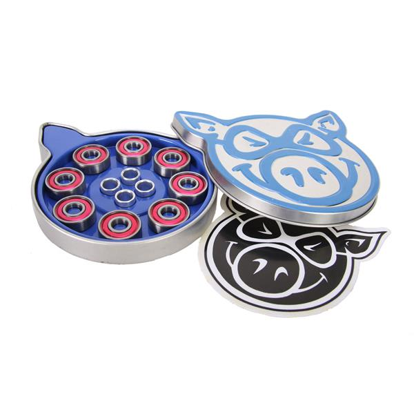Pig Abec-3 Skateboard Bearings