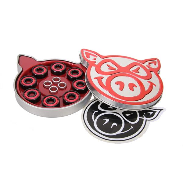 Pig Abec-5 Skateboard Bearings